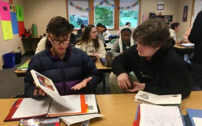 IB Students Read Spanish Children's Books, Then Create Their Own