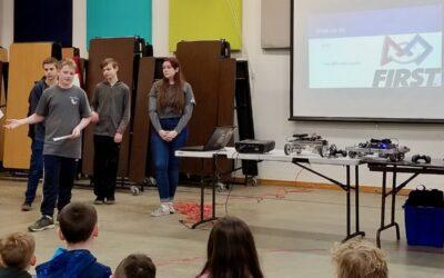 WSA Robotics takes their tech on the road to Silverwood School