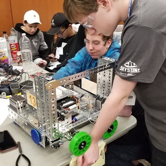 West Sound Academy Robotics places second in the FTC regional qualifier