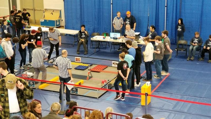WSA Robotics team finishes the season at Tesla Interleague Championship playoffs.