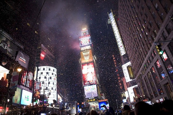 New York Ushers In New Year With Celebration In Times Square - Britannica ImageQuest