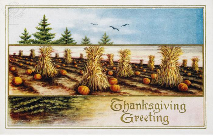 Thanksgiving card, c1910. American - Britannica ImageQuest