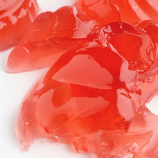 Jello pieces on white background - Britannica ImageQuest