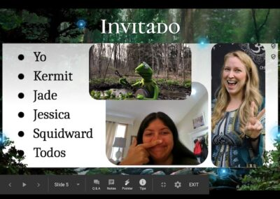 Invitado- Jessica Outlaw's 10th Grade Spanish class