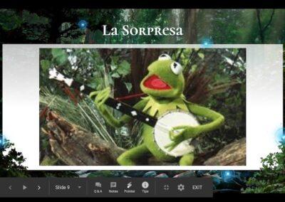 La sorpresa - Kermit