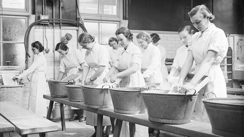 Teacher training in 1935 - Britannica ImageQuest