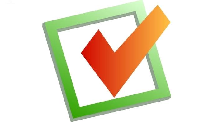 Checkmark in green box - Britannica ImageQuest